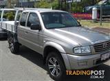2005 MAZDA BRAVO DX PLUS B4000 CAB CHASSIS