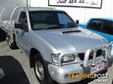 2002 HOLDEN RODEO LX TF CAB CHASSIS