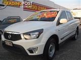 2013 SSANGYONG ACTYON SPORTS TRADIE Q150 UTILITY