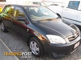 2005 TOYOTA COROLLA ASCENT ZZE122R HATCHBACK
