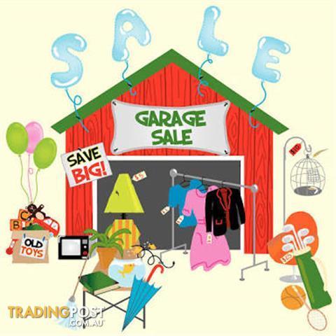 GARAGE SALE SAT 24TH FEB 4171 HAWTHORNE