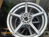 4 x 19 inch multi fit rims