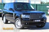 Used, RANGE ROVER, RANGE ROVER, 2009, 6 SP AUTO SEQUENTIAL, 4D WAGON