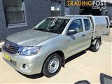 2012  TOYOTA HILUX SR GGN15R MY12 X CAB P/UP