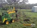 Kanga Dingo Mini Digger-$250 per day inc. delivery and fuel and 4-in-1 bucket