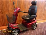 EUREKA SCOOTA LARGE - WALTZ, RED ELECTRIC SCOOTER, AS NEW CONDITION