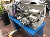 Metal working lathe and stand.