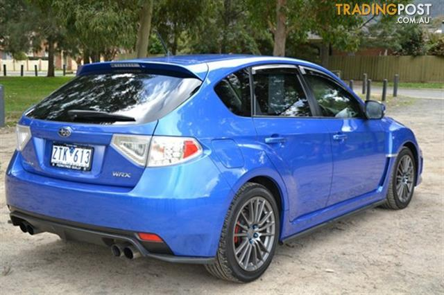 2011 subaru impreza wrx awd my11 5d hatchback for sale in ferntree gully vic 2011 subaru. Black Bedroom Furniture Sets. Home Design Ideas