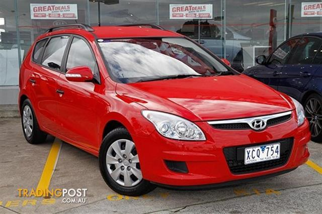 2009 hyundai i30 cw sx 2 0 fd my09 4d wagon for sale in. Black Bedroom Furniture Sets. Home Design Ideas