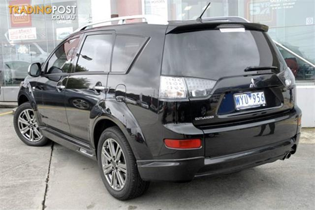 2009 mitsubishi outlander rx zg my09 4d wagon for sale in. Black Bedroom Furniture Sets. Home Design Ideas