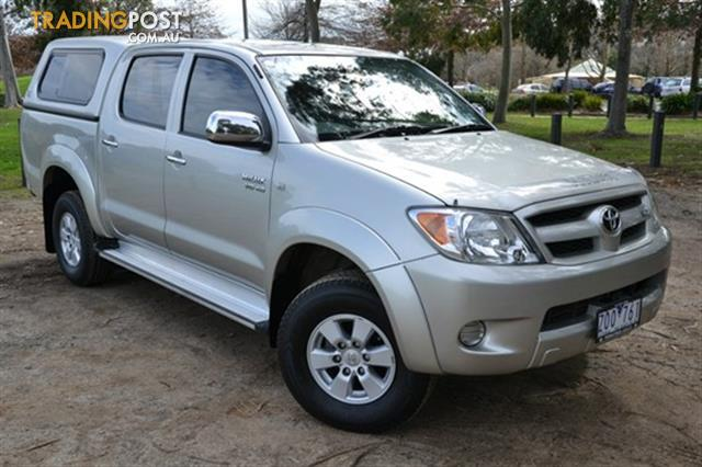 2005 toyota hilux sr5 xtra cab ggn15r my05 for sale in ferntree gully vic 2005 toyota hilux. Black Bedroom Furniture Sets. Home Design Ideas