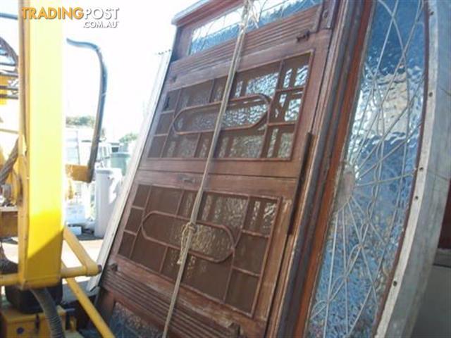 Doors Recycled Leadlight For Sale In Rosebud Vic Doors