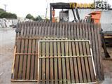 recycled driveway gates,