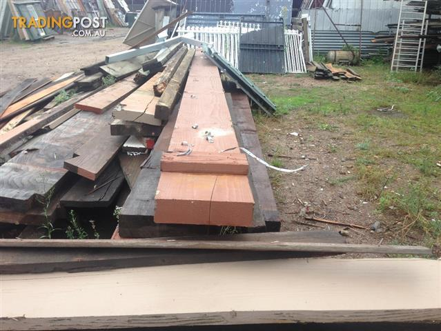 Recycled Hardwood Orgen Timbers