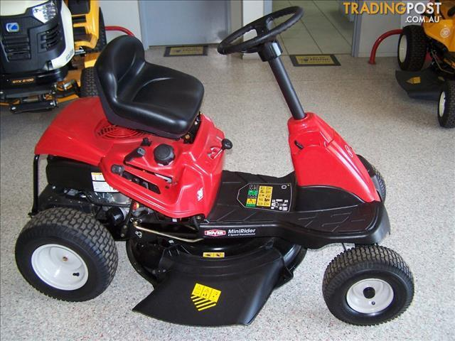 rover raider ride on mower manual