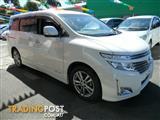 2012 Nissan Elgrand Highway Star E52 Wagon