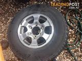 Yokohama Spare Tyre From Pajero 95 Model