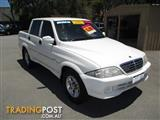 2005 SSANGYONG MUSSO SPORTS DUAL CAB P/UP