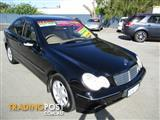 2002 MERCEDES-BENZ C200 KOMPRESSOR ELEGANCE W203 4D SEDAN
