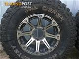 4wd Rims and Tyres