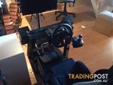 Logitech G29 Racing Wheel + Gear Shifter for PS3/PS4/PC
