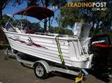 Ally Craft 5.1m Islander Aluminium Runabout Boat