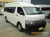 2009 TOYOTA HIACE COMMUTER KDH223R MY07 UPGRADE BUS