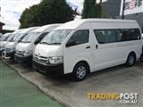2013 TOYOTA HIACE COMMUTER KDH223R MY12 UPGRADE BUS