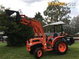 Kubota tractor L3430 front loader 4in1 bucket