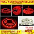 24 VOLT LED STRIP LIGHTS 5 METER ...RED ..AMBER OR MULTI COLOURED..