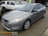 2008 FORD MONDEO XR5 TURBO MA 5D HATCHBACK