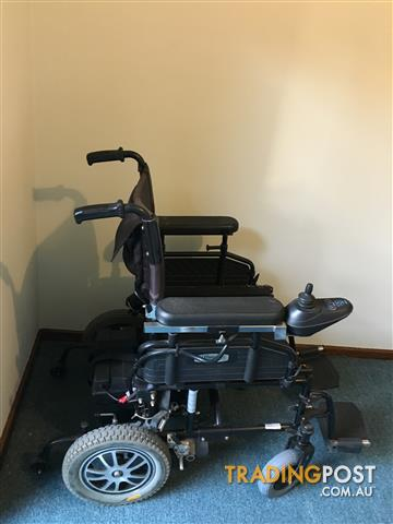 Wildcat motorized wheelchair