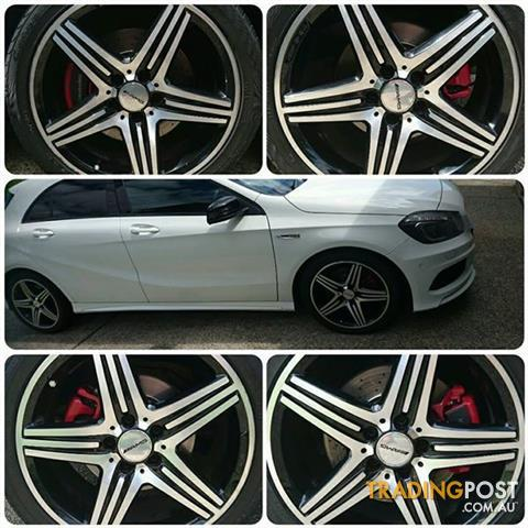 5x112 stud Pattern Mercedes AMG Rims with Tyres