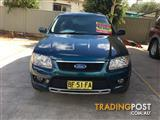 2009 FORD TERRITORY ts limited edition  STATION WAGON