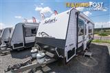 Safari Delta 20 - 20' Touring Caravan