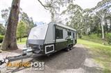 Safari Delta 20 Rear Door - 20' Touring Caravan