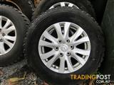 Mazda BT50 Wheels and tyres