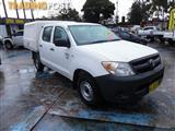 2006  TOYOTA HILUX WORKMATE TGN16R 06 UPGRADE DUAL CAB P/UP