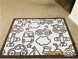 Nursery/ Boys room floor mat