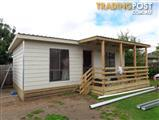 GRANNY FLAT / RELOCATABLE second hand installed to lock up