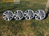 "2015  VOLKSWAGEN AMAROK 16"" WHEELS / RIMS"
