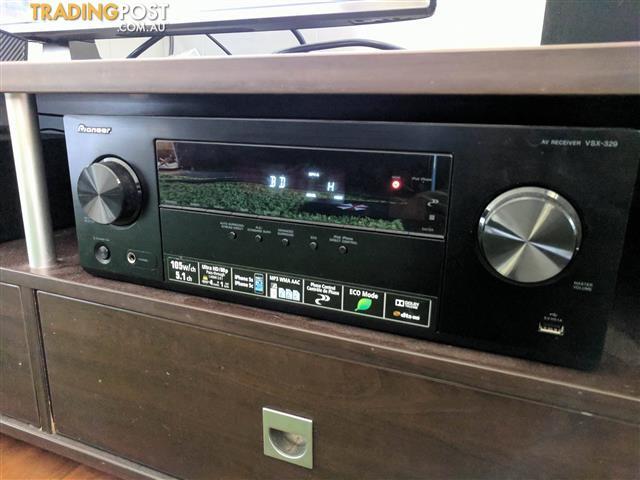 Pioneer VSX-329-K HDMI 4K AV Receiver - Under Warranty
