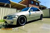 2003 LEXUS IS300 PLATINUM EDITION JCE10R 4D SEDAN