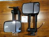 80 Series Clearview Extendable Towing Mirrors