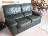 2 and 3 seat leather lounge set