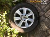 "4 x 16"" Alloy Rims and Tyres"