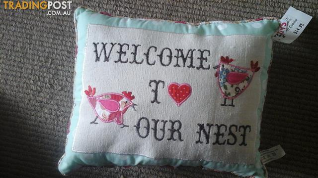 Love nest cushion