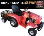 GRUDGE 110cc Kids Tractor with optional trailer