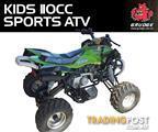 GRUDGE 110cc Kids Quad Bike / Sports ATV