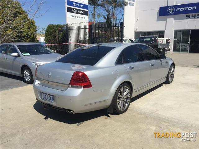 2013  HOLDEN CAPRICE V WN 4D SEDAN